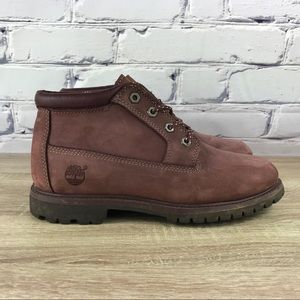 Timberland Nellie Wine Red Waterproof Boots